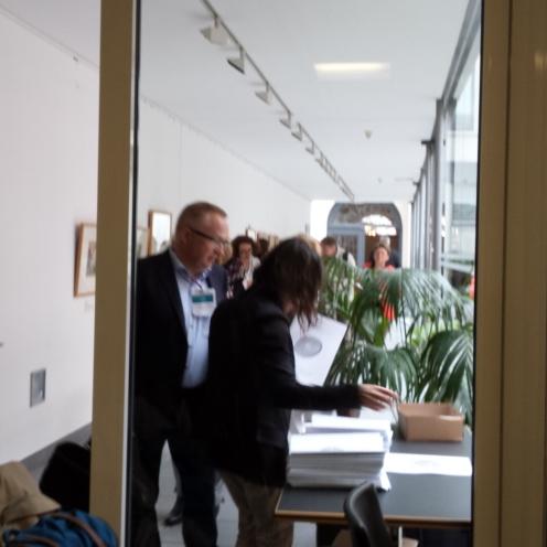 Per Paludan Hansen, EAEA's President, also attended the EDU-FIN Final Seminar